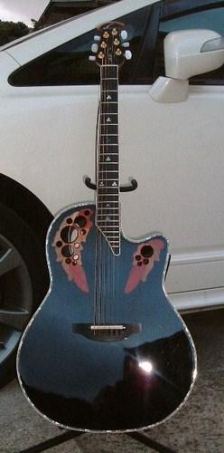 Kaseyan 39 s guitar ovation custom elite c2078 lx 5 for Custom elite com